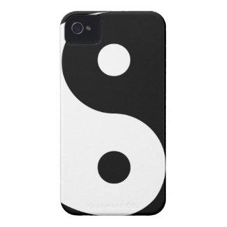 yin yang Basic Line iPhone 4 Case