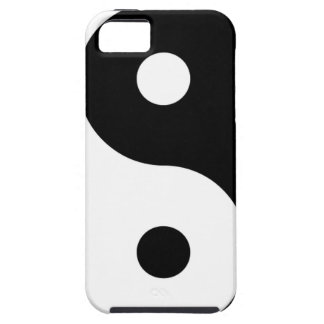 yin yang Basic Line iPhone 5 Case