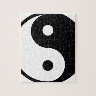 yin yang Basic Line Jigsaw Puzzle