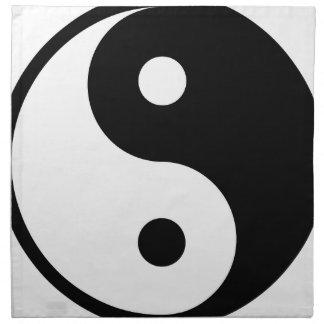yin yang Basic Line Napkin