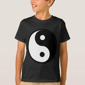 yin yang Basic Line T-Shirt