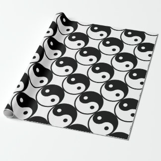 yin yang Basic Line Wrapping Paper