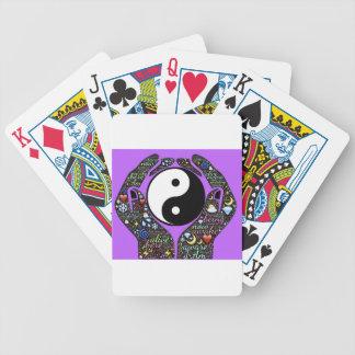 Yin, Yang Bicycle Playing Cards