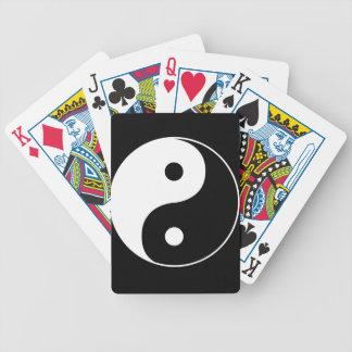 Yin Yang Bicycle Playing Cards