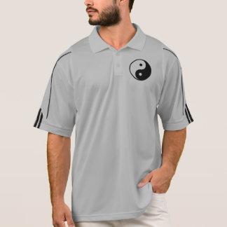 Yin Yang Black and White IllustrationTemplate Polo Shirt