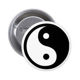 Yin Yang - button