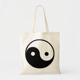Yin Yang Canvas Bag