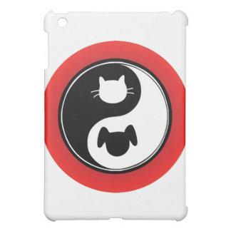 Yin Yang Cat Dog iPad Mini Covers