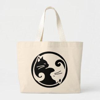 Yin Yang Cat  / Tao of Meow Tote Bag