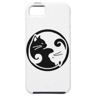 Yin Yang Cats iPhone 5/5S Case