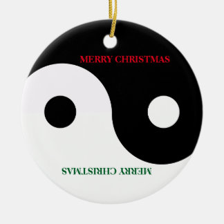 Yin Yang Christmas Ornament