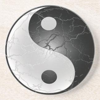 Yin Yang Coaster