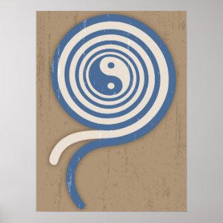 Yin Yang Coil II Poster