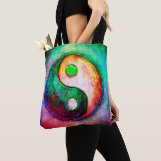 Yin Yang - Colorful Painting II Tote Bag