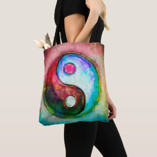 Yin Yang - Colorful Painting IV Tote Bag
