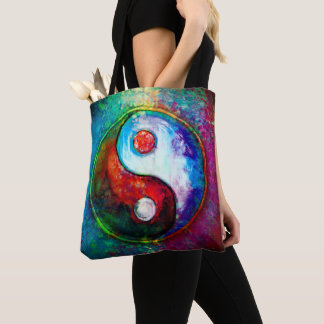 Yin Yang - Colorful Painting VI Tote Bag