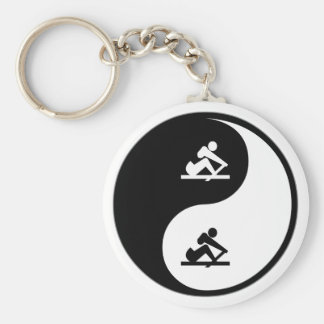 Yin Yang Crewing Key Ring