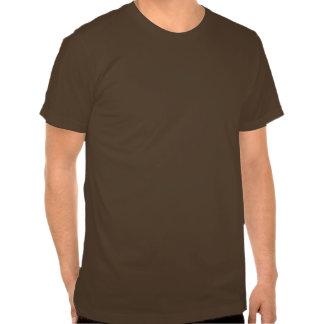 Yin Yang Dragons brown and black T-shirts