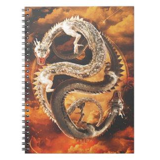 Yin Yang Dragons - Chaos Notebooks
