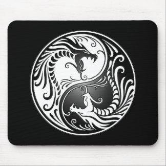 Yin Yang Dragons Mouse Pad