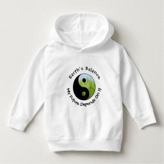 Yin Yang - Earth's Balance My Future Depends On It Hoodie