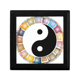 yin yang eastern asian philosophy gift box