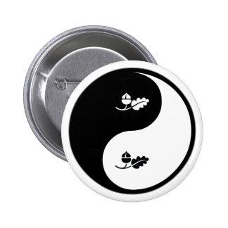 Yin Yang Ecology 6 Cm Round Badge