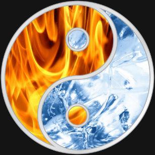 Yin Yang Fire And Ice Clothing Apparel Shoes More Zazzle Au