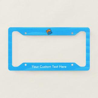 Yin Yang Fish Cartoon Licence Plate Frame