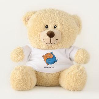 Yin Yang Fish Cartoon Teddy Bear