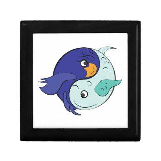 Yin Yang Fish Gift Box
