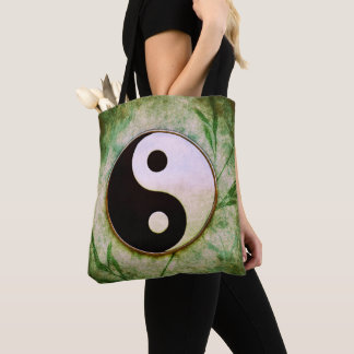 Yin Yang - Grass Moon Tote Bag