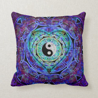 Yin Yang Heart by Amelia Carrie Cushion