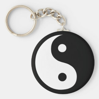 Yin Yang Key Ring