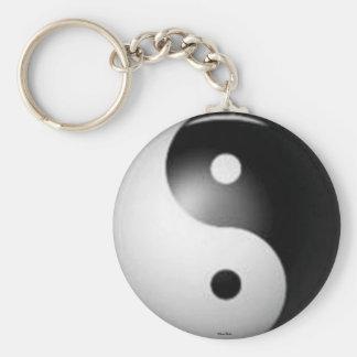 Yin & Yang Keychain