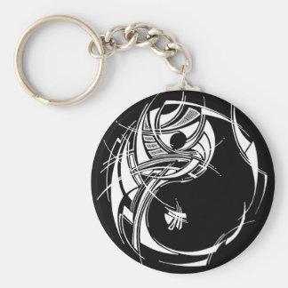Yin Yang Keychain