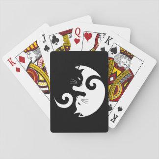 Yin Yang Kitties Playing Cards