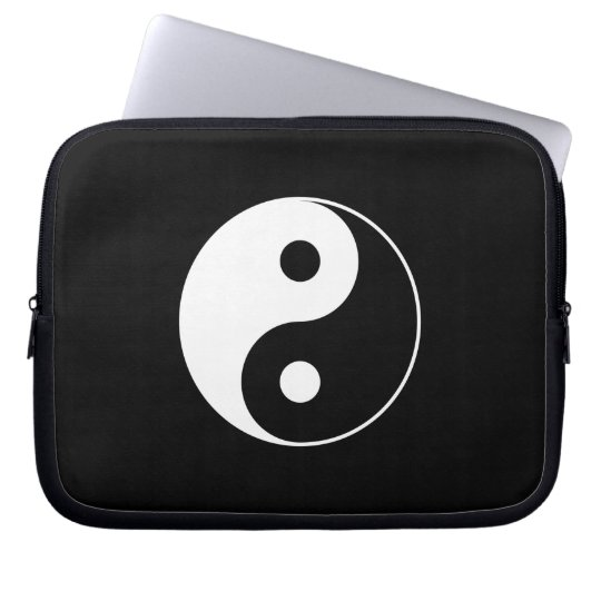 Yin Yang Laptop Sleeve