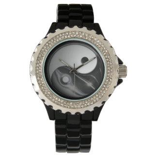 Yin Yang - Liquid Black (Customizable) Watch