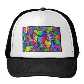 Yin-Yang Mesh Trucker Hat