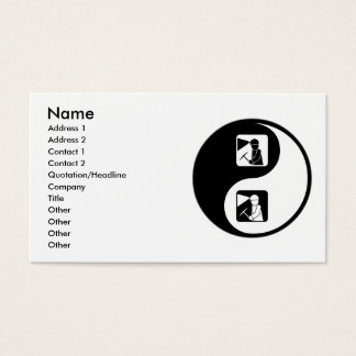 Yin Yang Mining Business Card