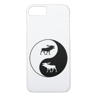 Yin Yang Moose iPhone 8/7 Case