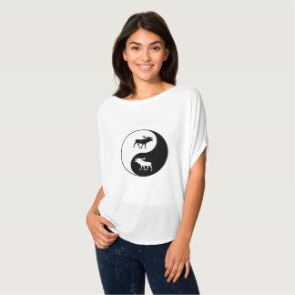 Yin Yang Moose T-Shirt