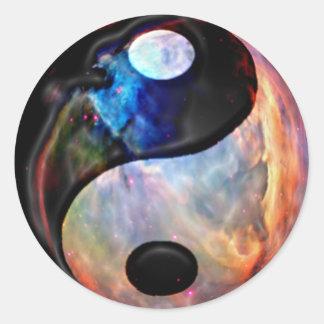 Yin Yang Nebula sticker
