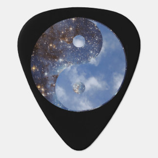 Yin Yang Night and Day Guitar Pick