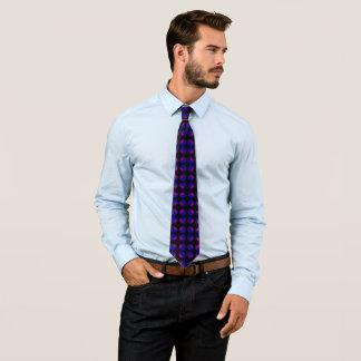 Yin Yang on Black Satin Tie