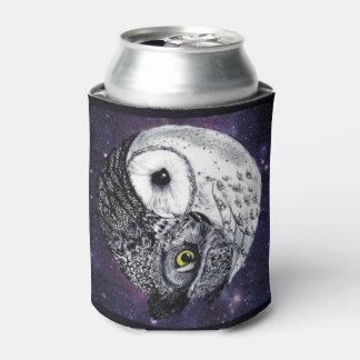 Yin Yang Owls Can Cooler