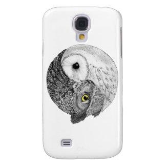 Yin Yang Owls Galaxy S4 Cases