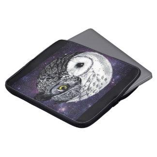 Yin Yang Owls Laptop Sleeve