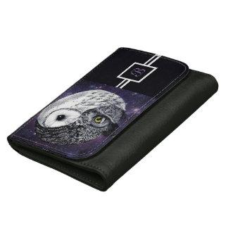 Yin Yang Owls Wallet For Women